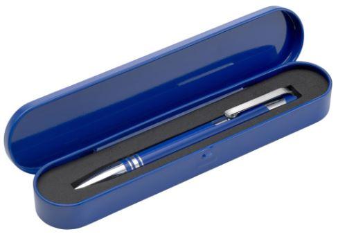 blauwe pen